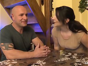 LA newcummer - super-fucking-hot assfuck shag with spectacular French inexperienced
