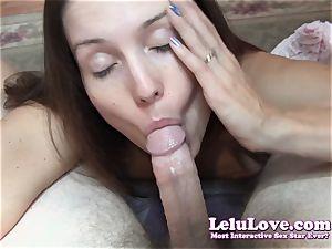 Lelu Love-Tease Denial Blueballs fellatio