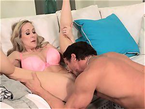 uber-sexy wifey Brandi enjoy gets her hubby back