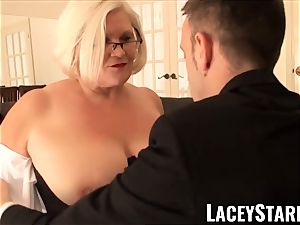 LACEYSTARR - servant GILF ass stuffed by Pascal white