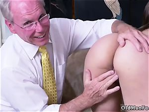 aged youthful rectal gang-fuck Ivy amazes with her hefty globes and culo