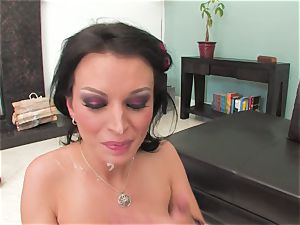 Bailey Brooks gets ravaged stiff and adorned in cum