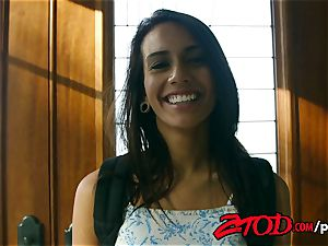 ZTOD - Janice Griffith in daddys tiny tear up puppet