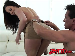 Kendra zeal attacks a gigantic booty dick with all her holes