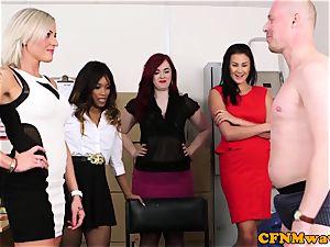 Mean female domination gang joy with Kiki Minaj