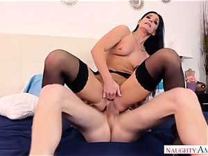 India Summers penetrated in her ass hole