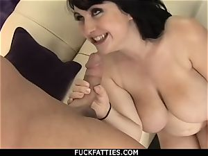 Beverly Paige Thanking His hefty shaft For His cum