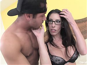 Yellow bedroom fucky-fucky with Chad white