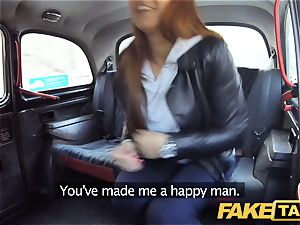 faux taxi hidden cam catches super-sexy couple boning