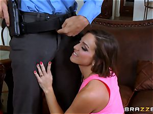 Abigail Mac gets shafted by a steamy cop in uniform