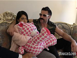 TOUGHLOVEX Gina Valentina disciplined for being a bad damsel