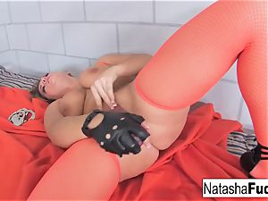 buxomy Natasha super-cute shows Off Her astounding forms