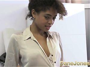 Dane Jones luxurious teen ebony office doll