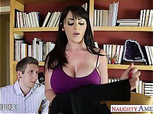 super-naughty office stunner Sophie Dee fuck