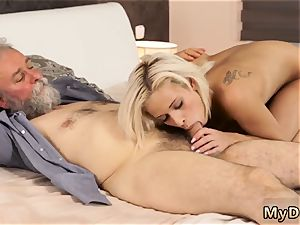 analingus old Surprise your gf and she will tear up with your daddy