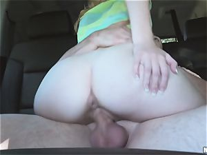 Kiera Winters thanks her pick up with some serious orgy