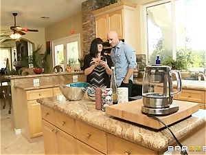 uber-sexy stepdaughter Ariana Marie smashes her filthy stepdad