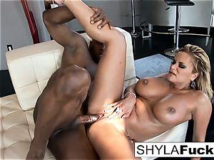 Shyla Takes A humungous bone