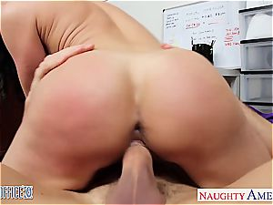 insatiable Kendra zeal works her way up the corporate ladder