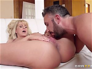 Mean mommy Ryan Conner pounds her daughters big dicked fellow