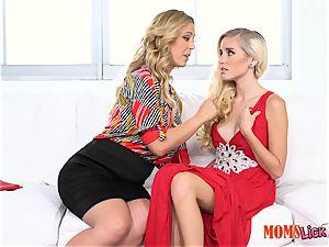 cunt pie stepmom tempts her stepdaughter Naomi woods & Cherie Deville