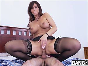 Syren De Mer Her slit And donk nailed messy cream Pie