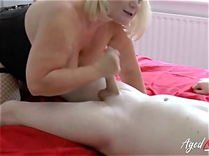 AgedLovE xxx sex with Mature Lacey Starr