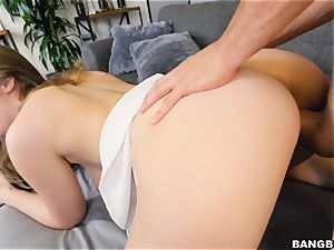 Smoking hot Lena Paul drilled doggy-style