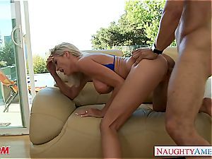 big-chested blondie mother Emma Starr gets fucked