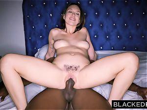 BLACKEDRAW Smoking Swinger wifey tries ebony hard-on