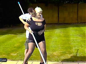 AgedLovE Lacey Starr porking Poolboy hardcore