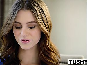 TUSHY very first anal For college damsel Anya Olsen