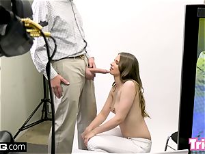 Jillian Janson gets tricked into boinking on a audition