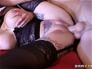 Anna Bell Peaks ravaged in her saucy minge
