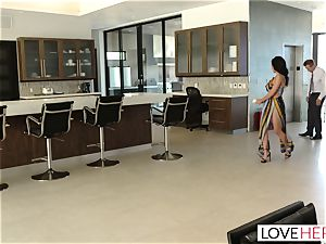 LoveHerFeet - Sneaky cheating foot fuckfest With The Realtor