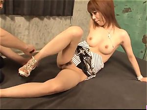 Spicy adult play with insolent cougar Rui Shiina