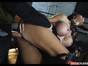Jasmine Jae smashed stiff