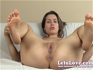 spreading my labia and asshole with lots of soles and...