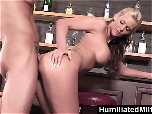 HumiliatedMilfs light-haired cougar likes to get