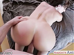 sumptuous Sophie Dee super-naughty at home for a hefty penis