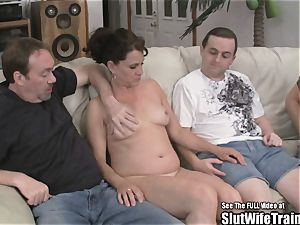 ultra-kinky hoe wife threeway gulp nail soiree For spouse