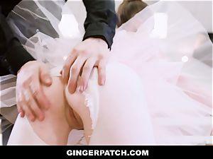 GingerPatch - ginger-haired Ballerina railing Judges hefty chisel