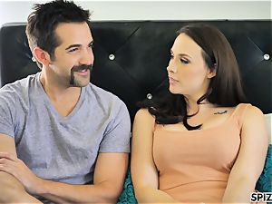 Spizoo - watch Chanel Preston deep throating and banging