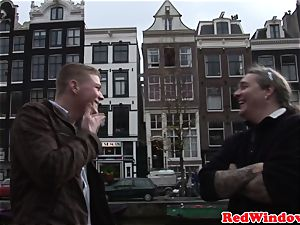 Pussyfucked dutch call girl welcomes tourist