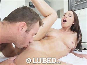 well-lubed filthy bang by torpedo knob with Aidra Fox