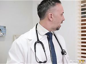 Chanel Preston takes a journey to the doctors