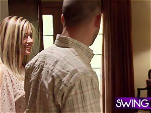 first time swingers have fun as they experiment lifestyle