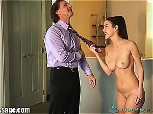 Dillion Harper fucked by her step father