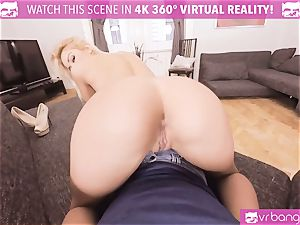 VR PORN-Cherry take a ginormous trouser snake in her culo and wet vulva