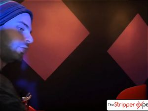 The StripperExperience- Sarah Jessie fucking a gigantic manmeat